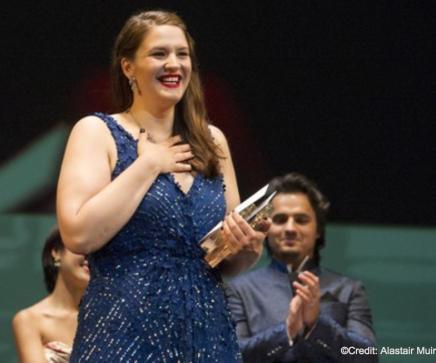 Lise Davidsen mottar sine priser