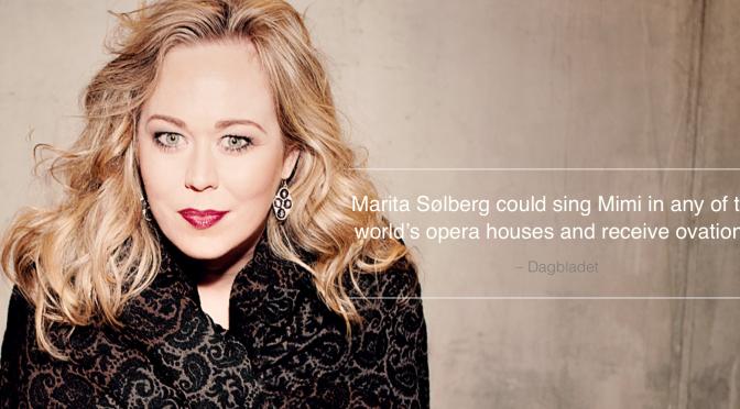 Marita er vår store Operastjerne