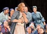 Elisabeth Teiige, her som Senta i Den flygende hollender på Skäret Foto: Opera på Skäret